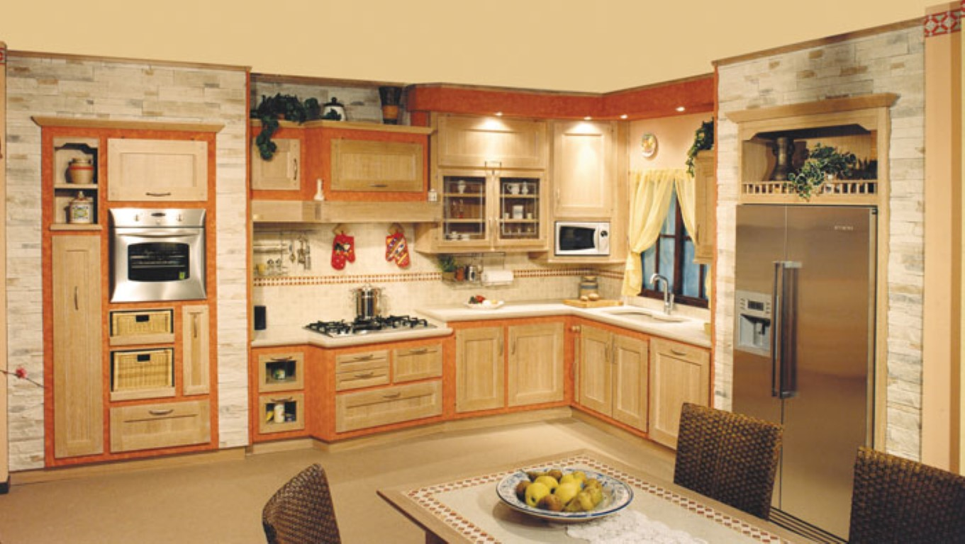 Cucine In Murature : Cucine rustiche chiare uf regardsdefemmes