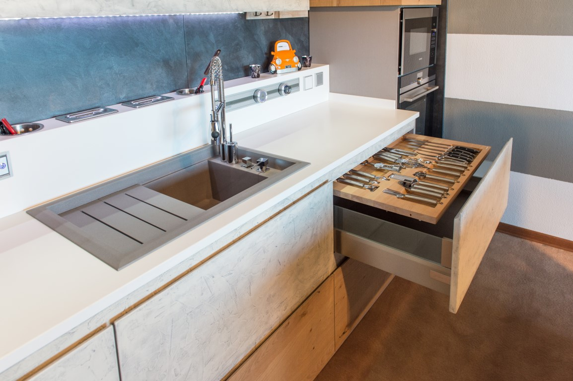 Awesome cucine in muratura moderne gallery design - Cucine in muratura moderne ...